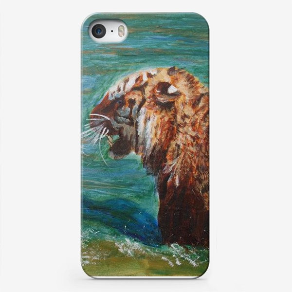 Чехол iPhone «Амурские тигры»