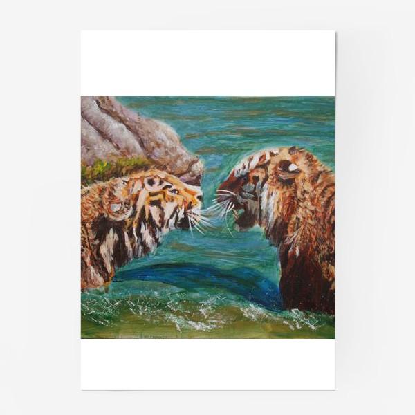 Постер «Амурские тигры»