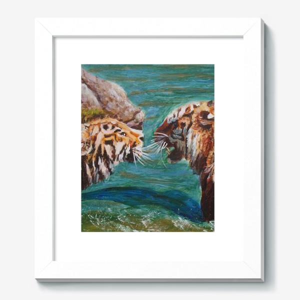 Картина «Амурские тигры»