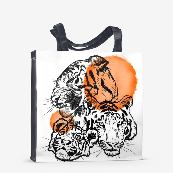 Сумка-шоппер «Тигры»