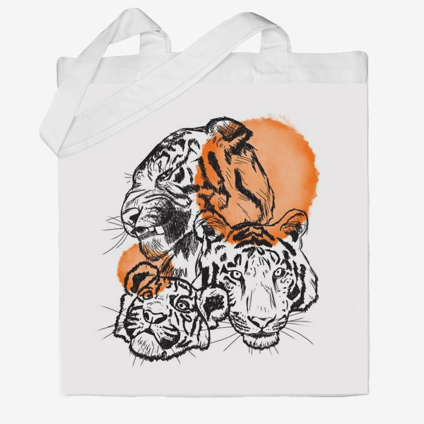 Сумка хб «Тигры»