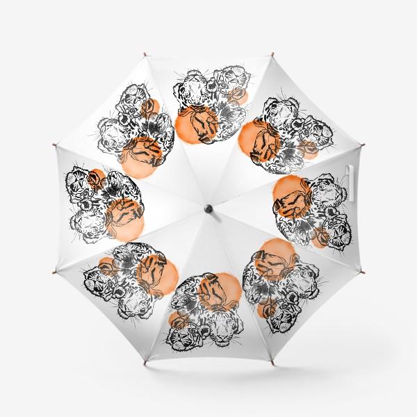Зонт «Тигры»