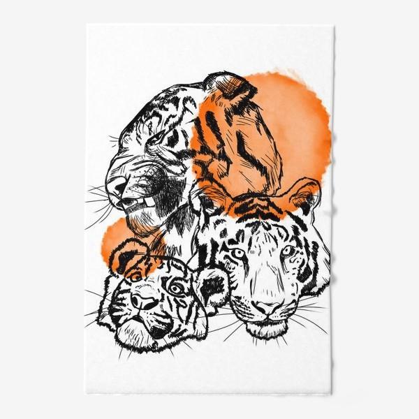 Полотенце «Тигры»