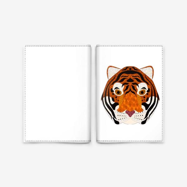 Обложка для паспорта «Амурский тигр»