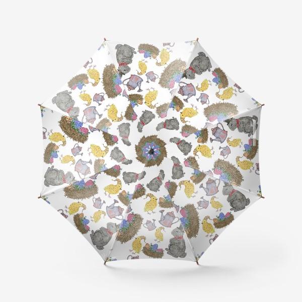 Зонт «Паттерн пасха»