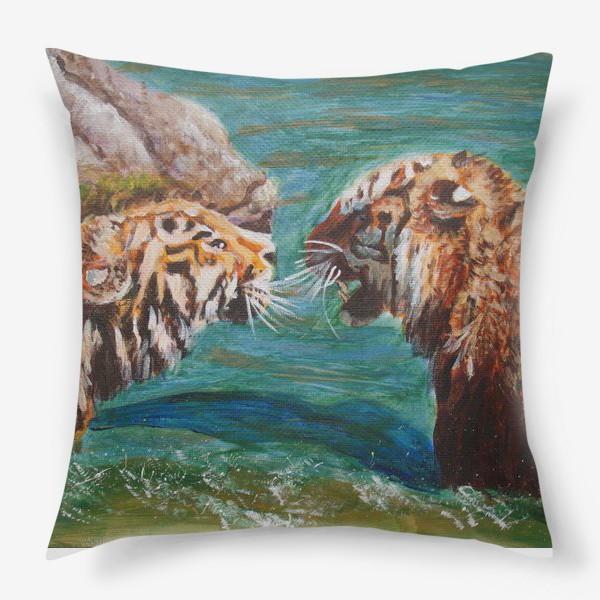 Подушка «Амурские тигры»