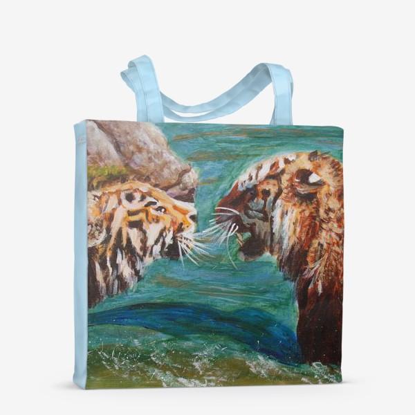 Сумка-шоппер «Амурские тигры»