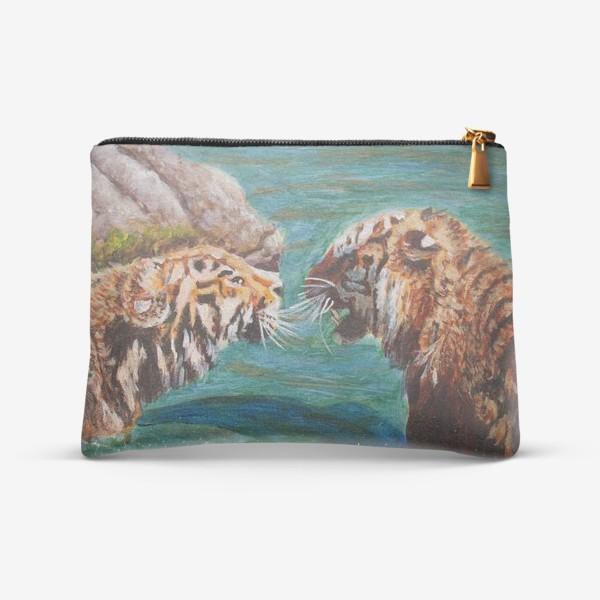 Косметичка «Амурские тигры»