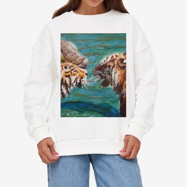 Свитшот «Амурские тигры»