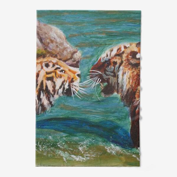 Полотенце «Амурские тигры»