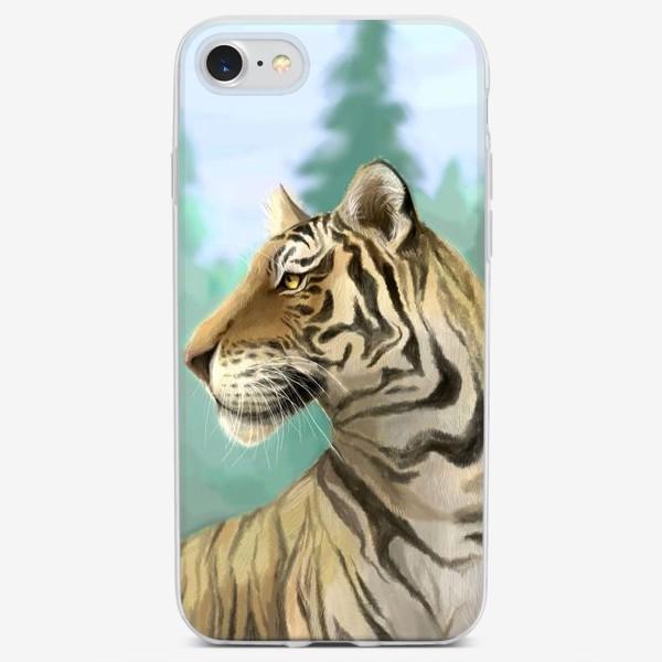 Чехол iPhone «Амурский тигр 2021»