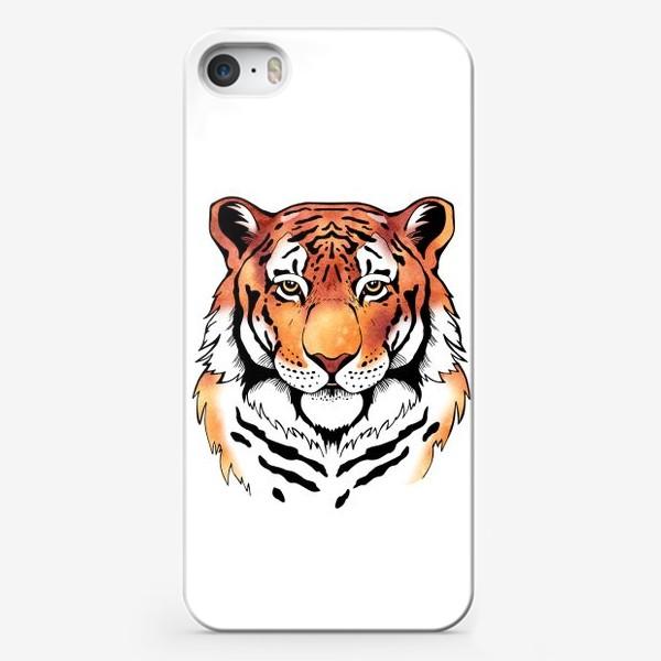 Чехол iPhone «Амурский тигр »