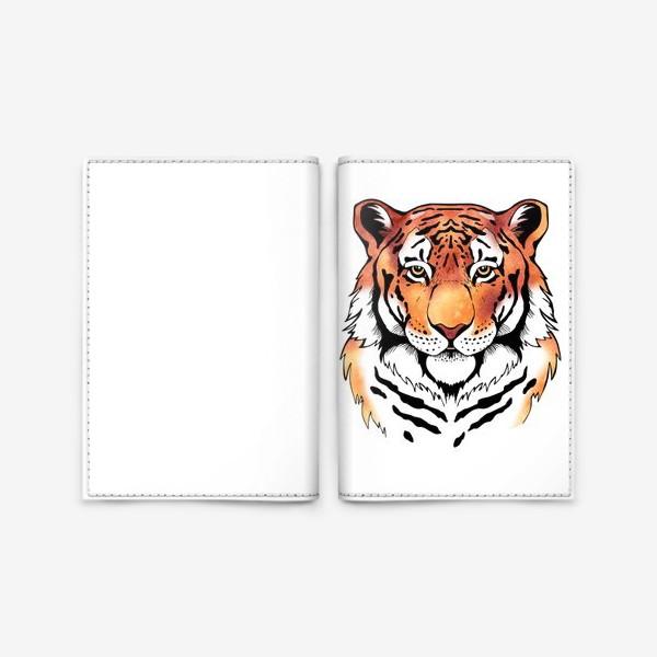 Обложка для паспорта «Амурский тигр »