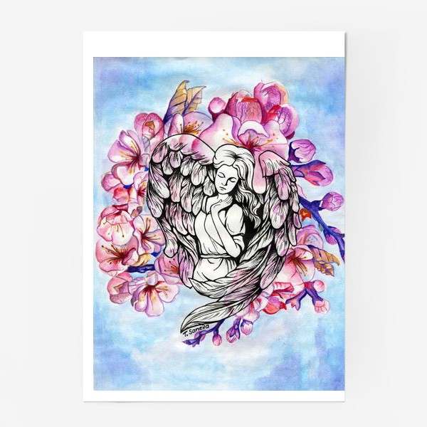 Постер «Ангел и небо»