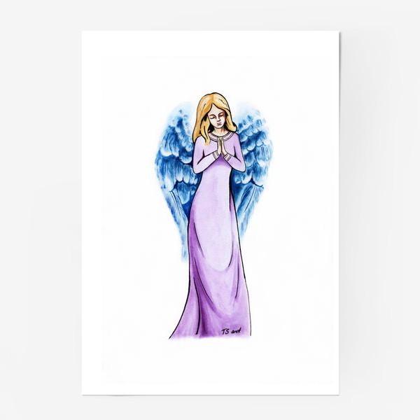 Постер «Ангел голубой»