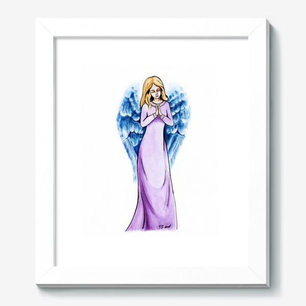 Картина «Ангел голубой»