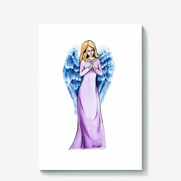 Холст «Ангел голубой»