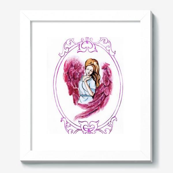 Картина «Ангел розовый»