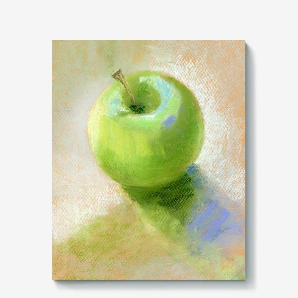 Холст «Яблоко зеленое Гренни смит»
