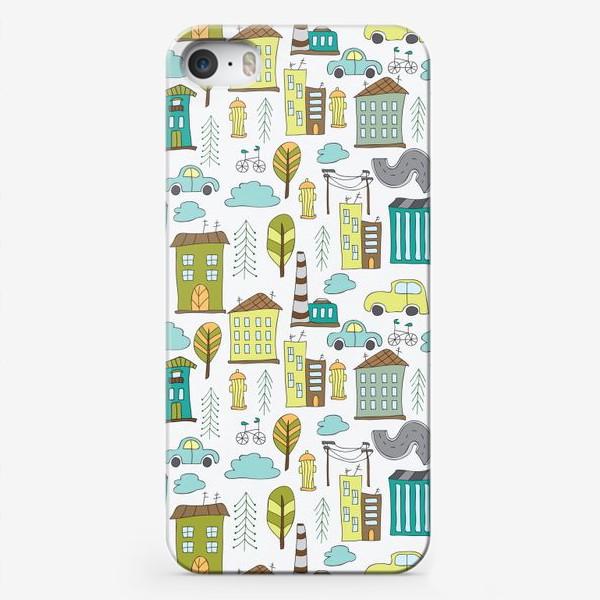 Чехол iPhone «Городская жизнь»