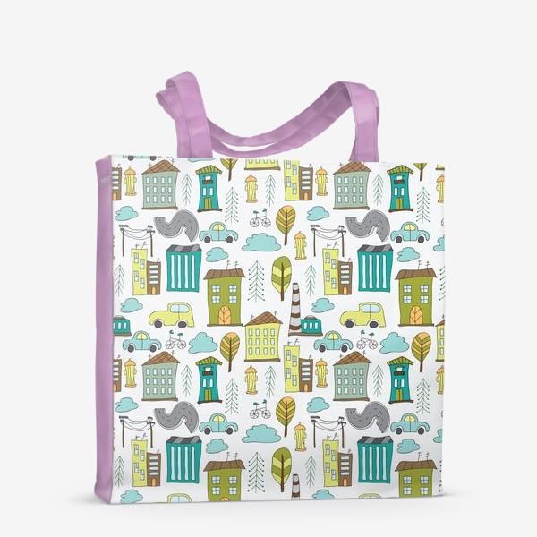 Сумка-шоппер «Городская жизнь»