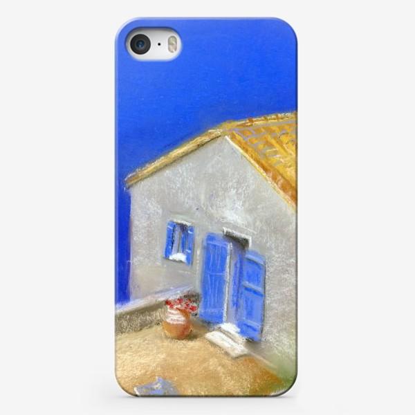 Чехол iPhone «Санторини»