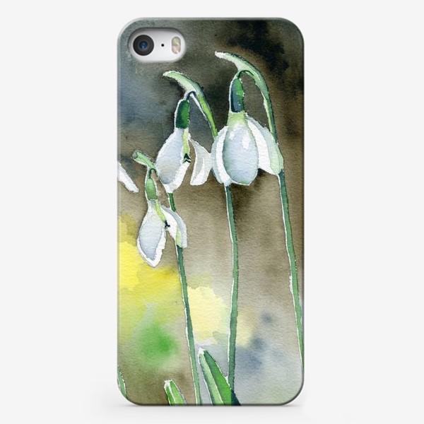 Чехол iPhone «Подснежники»