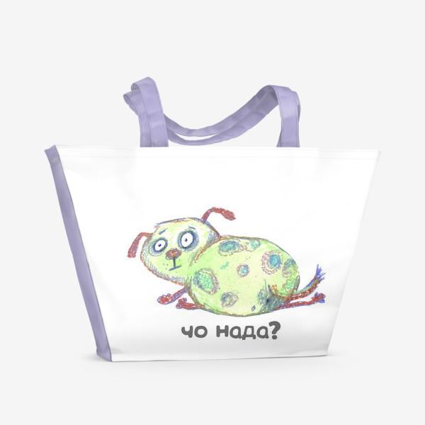 Пляжная сумка «испугашка»