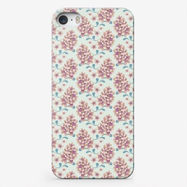 Чехол iPhone «Нежные цветы в пастельной цветовой гамме»