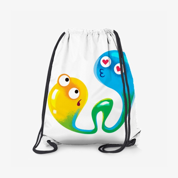 Рюкзак «монсты целуются»