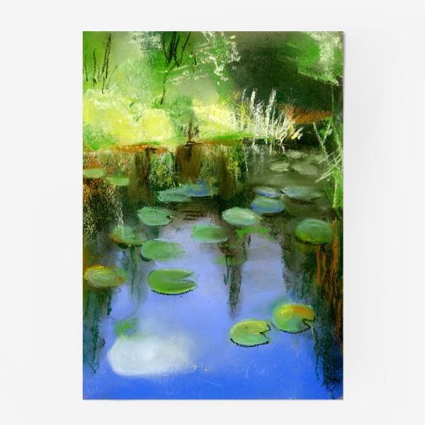 Постер «Отражение в пруду»