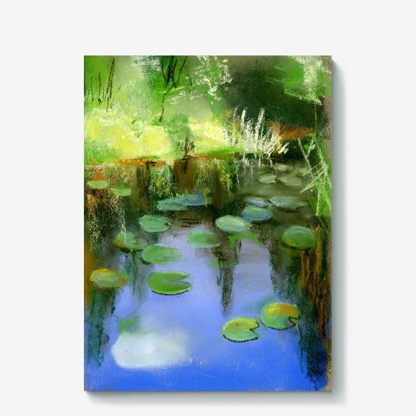 Холст «Отражение в пруду»