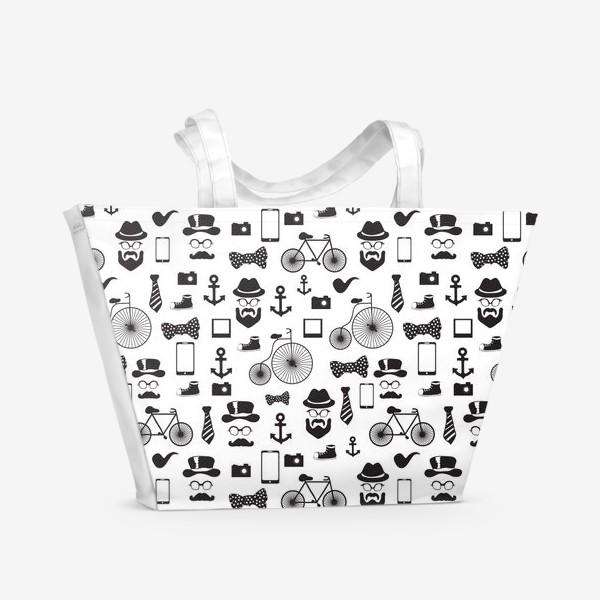 Пляжная сумка «Хипстер-стайл»