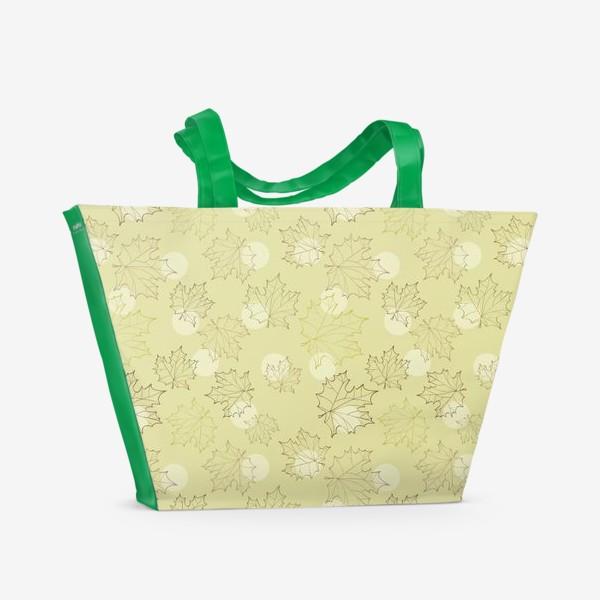 Пляжная сумка «Осенние мотивы»