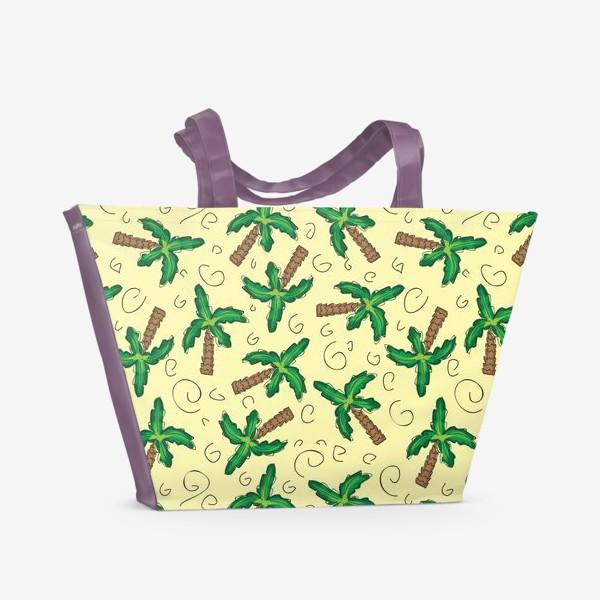 Пляжная сумка «Пальмы»
