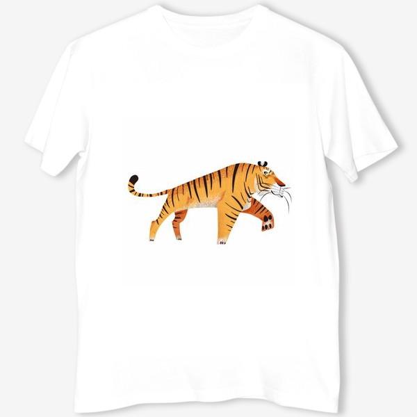 Футболка «Крадущийся тигр»
