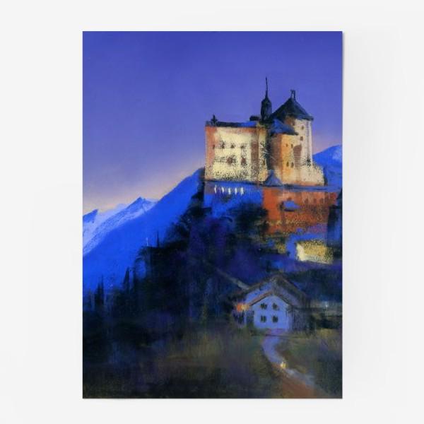 Постер «Замок Тарасп. Ночь»