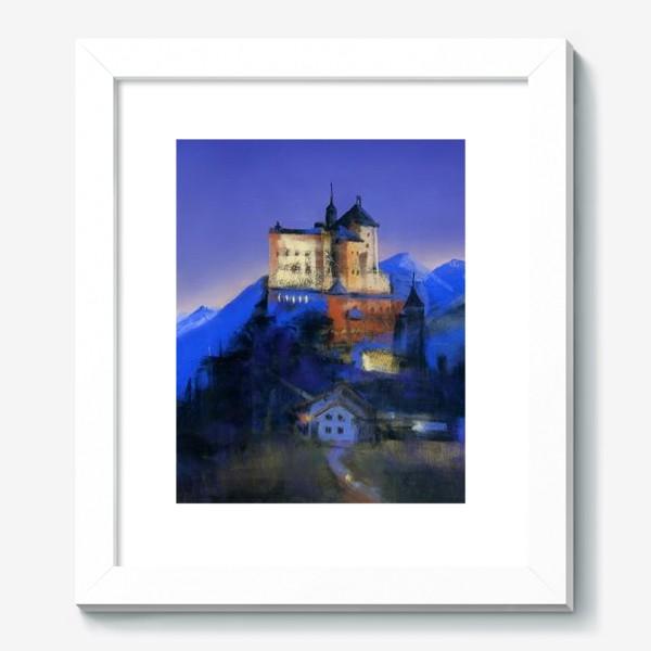 Картина «Замок Тарасп. Ночь»