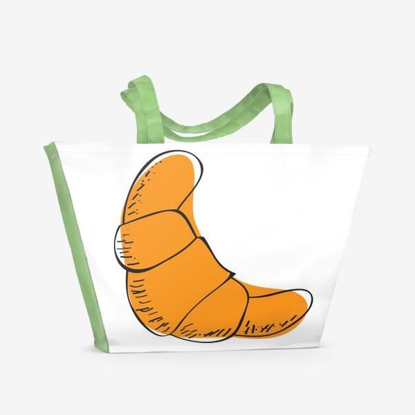 Пляжная сумка «Круассан»
