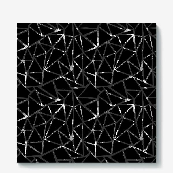 Холст «Всё косенко в чёрном»