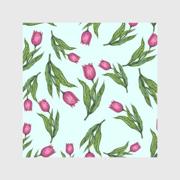 Скатерть «Весенние тюльпаны»