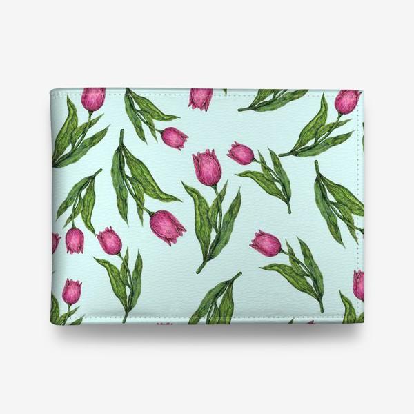Кошелек «Весенние тюльпаны»