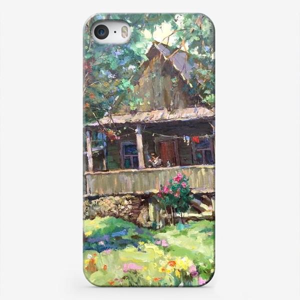 Чехол iPhone «Старенькая дача»