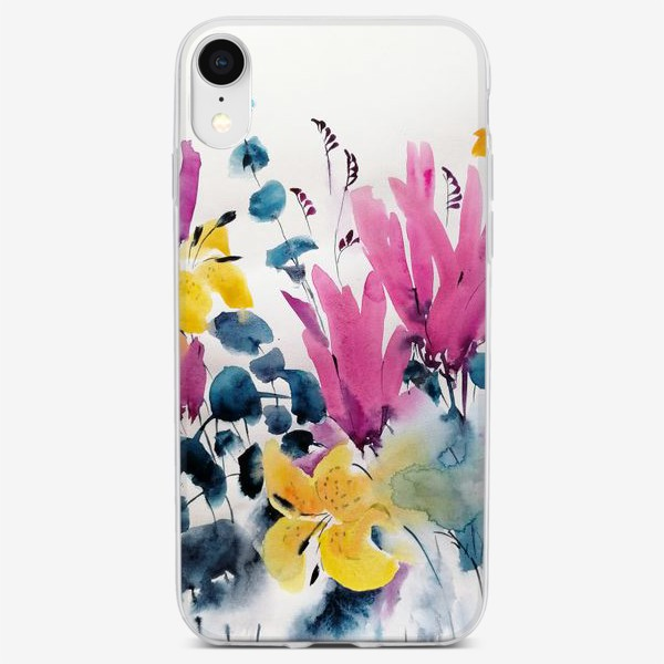 Чехол iPhone «Цветы»