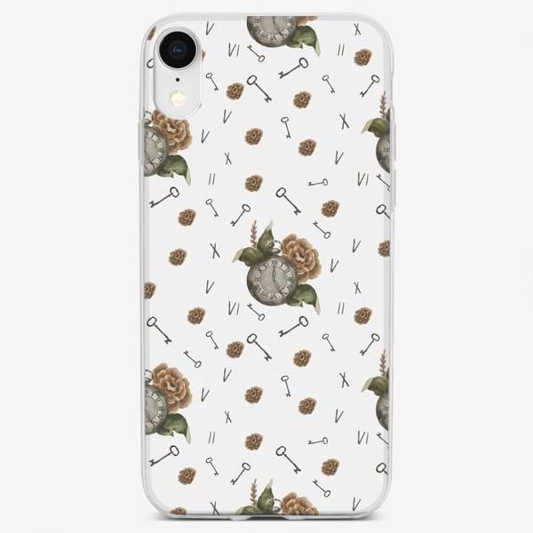 Чехол iPhone «Часы винтаж»