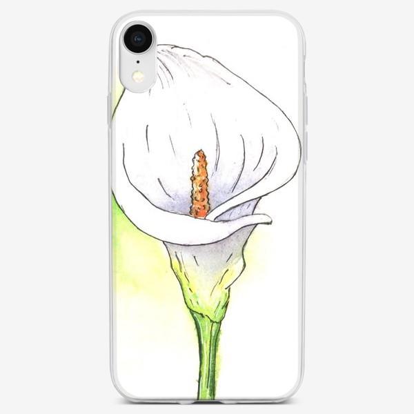 Чехол iPhone «цветок калла»