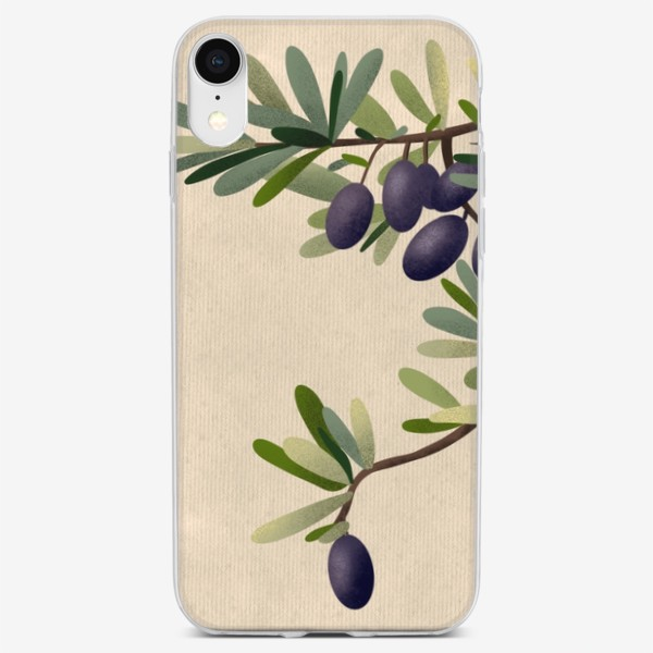 Чехол iPhone «Олива»