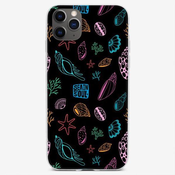 Чехол iPhone «Морской паттерн (диско)»