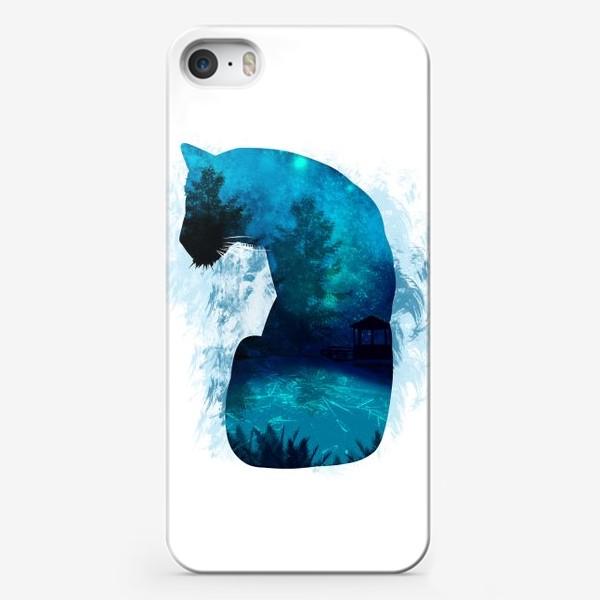 Чехол iPhone «Тигр в силуэте »