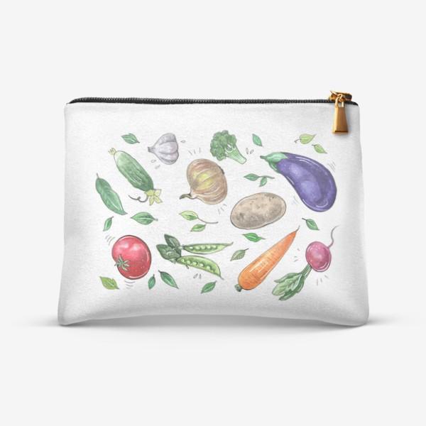 Косметичка «Овощи - вкусная и здоровая пища»